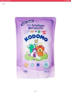 Kodomo laundry low sud 8pk