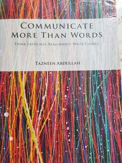 Communicate more than words
