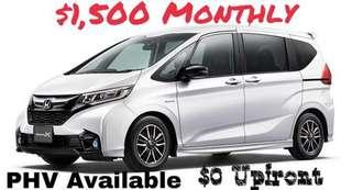 2018 Honda Freed Hybrid