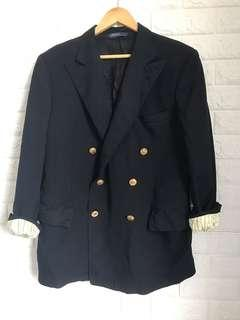Ralph Lauren Coat Blazer Midnight Blue