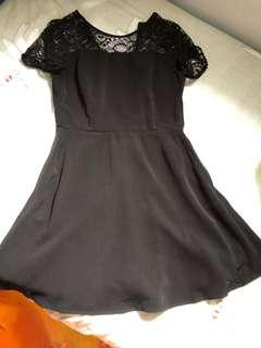 黑色斯文裙