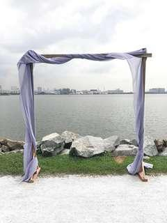 🚚 Wedding/Events Backdrop Classic Arch Style Rental - Arc Only