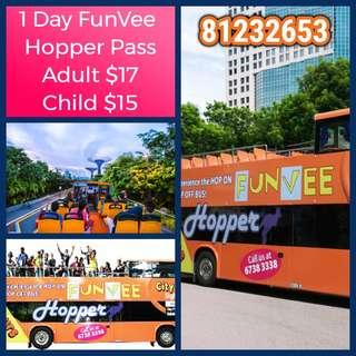 1 Day FunVee Hopper Pass