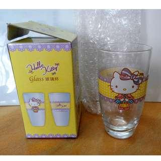 Hello Kitty 玻璃水杯