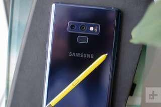 Samsung Note 9 Blue (New and sealed)