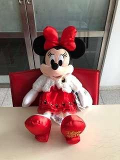 Minnie Mouse Christmas Edition Plush Disney