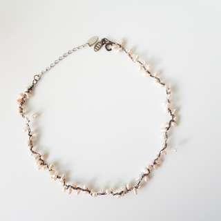 Pearl Choker Bracelet