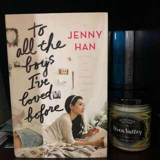 🚚 To All The Boys I've Loved Before by Jenny Han Hardcover Book