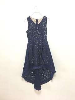 🚚 BN NAVY FLORAL DRESS #single11