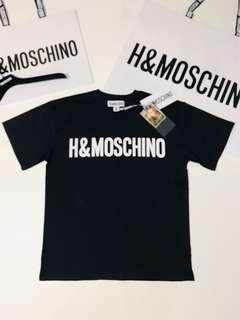 H&Moschino Black Tee