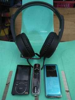 2Sony 1Samsung with Headset