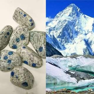K2 stone from k2 mountain