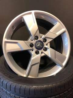 """BN Mercedes 18"""" Rims, 5x112, 18""""x8.5"""", Offset 48"""