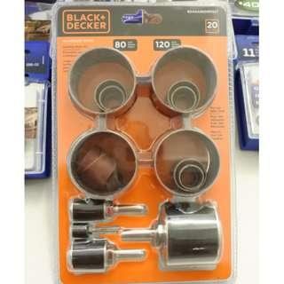 Black + Decker Grinding and sanding kti set Genuine