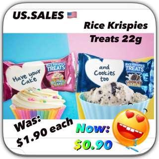 Clearance #3 Nov-Dec 2018 Authentic Rice Krispies Treats