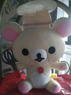 Rilakkuma Japan Stuffed Toy Battery Operated RUSH