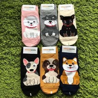 <Instocks> Cute Dog Korean ankle socks