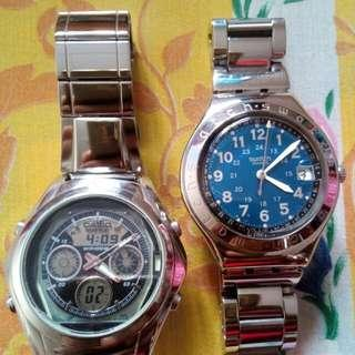 Casio dan Swatch