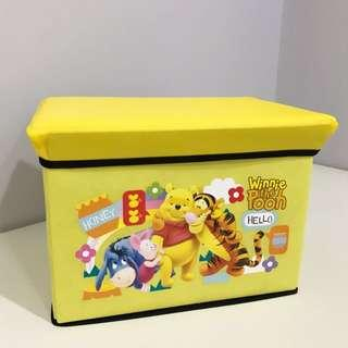 Spacious Pooh Collapsible Storage Box