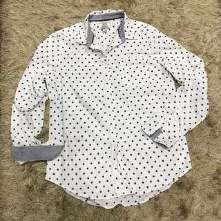 🌟Weekend Sale🌟Polka Dots Shirt