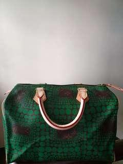SALE!!! Rare and limited edition Louis Vuitton Yayoi Kusama Speedy 30 from 5k