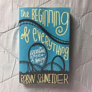 YA BOOK FOR SALE: The Beginning of Everything