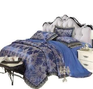 European premium bedding set for wedding
