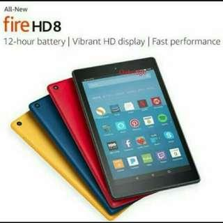 Amazon Kindle Fire 7' (2017) & HD 8 (2017)Tablet and case