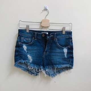 H&M Ripped Shorts #SINGLES1111