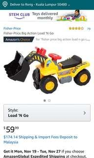 fisher price big action loan'n go
