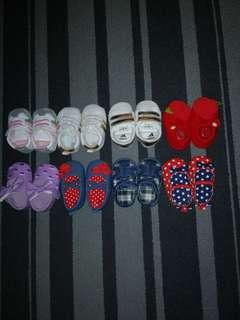$30 for 8 Baby Shoes