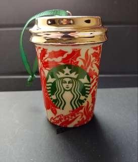星巴克聖誕 陶瓷 擺設 Starbucks Christmas ceramics gift 2017