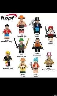 KF One Piece Minifigures Set