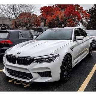 BMW G30 Convert G90 M5 alike Front Bumper Bodykit