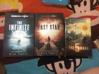 The fifth wave trilogy