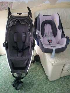 Quinny Zapp With Maxi Cosi Carseat