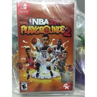 全新 NS 任天堂 Nintendo Switch NBA 2K Playgrounds 2 熱血街球場 2 美版中英文版