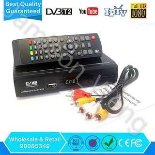🚚 True Full HD 1080 Good Quality Digital TV Box MediaCorp Channels Basic Package Metal Casing