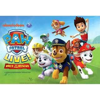 PAW Patrol live CHEAPEST in singapore