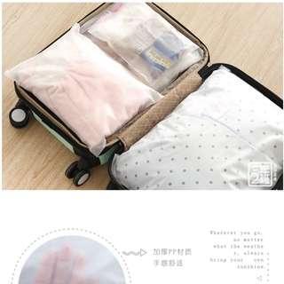 BN Travel Ziplock Clothes Bag