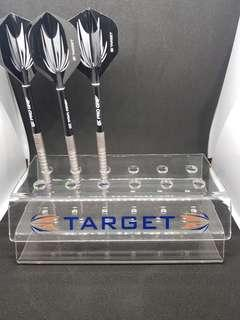 Target Darts Acrylic Darts Stand