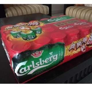 Carlsberg 24 can beer
