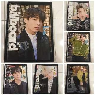 WTS BTS Billboard Magazine Set (Magazine + Original Poster)