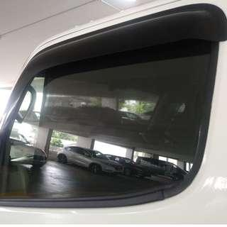 Van and Lorry Curtain - fitting can slide make to measure