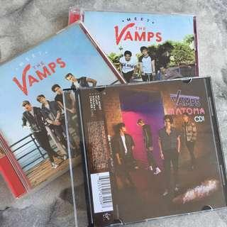 The Vamps CD set