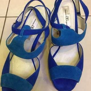 🚚 AS性感微粗高跟涼鞋36.23