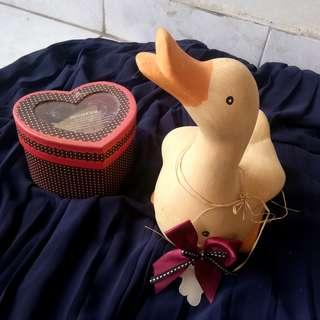 #LetGoCarousell Duck Terracotta with sound
