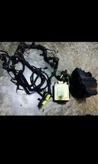 Wiring enjin wira 1.6 soch