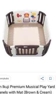 Nihon ikuji playpen play yard baby infant japan musical