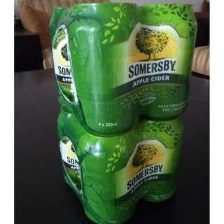 Somersby Apple Can 320 ml - 8 Can